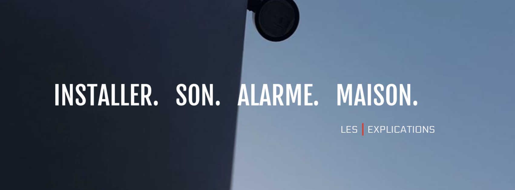 comment installer alarme maison explications